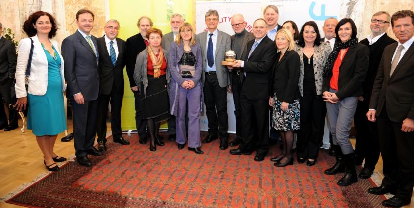 AAU mit Sustainability Award ausgezeichnet | Foto: BMLFUW/Bernhard Kern