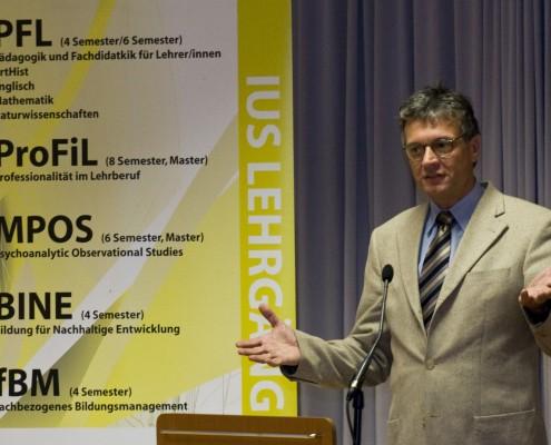 Franz Rauch, Leiter des Bereichs Lehre am IUS | Foto: aau/Wagner