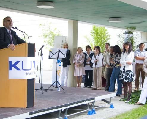 Sommerempfang der Fakultät für Kulturwissenschaften | Foto: aau/Wurzer