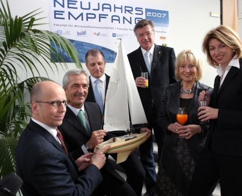 Neujahresempfang 2007 | Foto: aau/Wagner
