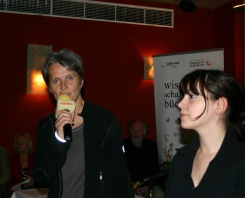 Angelika Hödl und Katja Anzelak von Radio Agora | Foto: Tellian