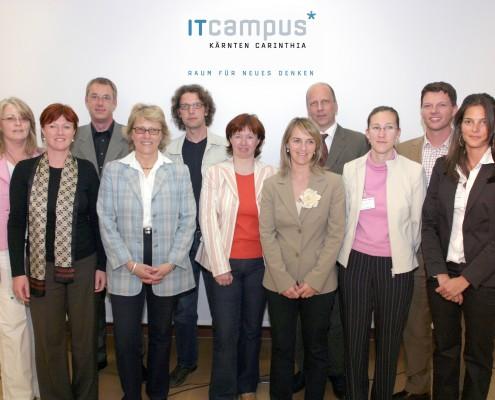 Das IT-Campus-Team | Foto: aau/Wagner