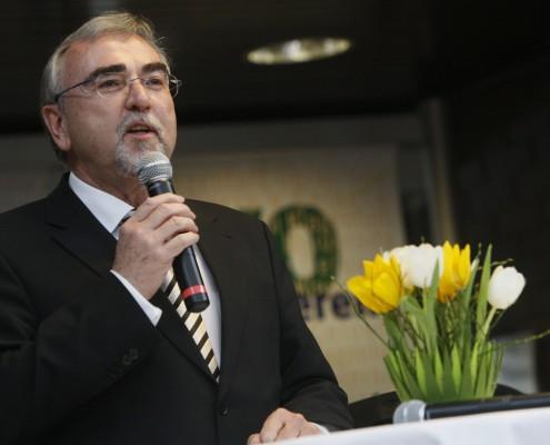 Rektor Mayr beim Neujahrsempfang 2008 | Foto: aau/Maurer
