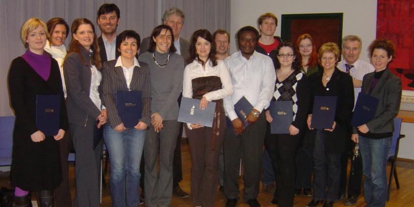 AbsolventInnen Basislehrgang 2008   Foto: aau/KK