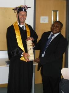 DI Dr. techn. Bernhard Lamprecht & Univ.- Prof. Dr.-Ing. Kyandoghere Kyamakya | Foto: aau/KK