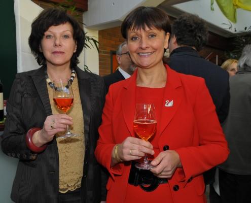 v.li.: Mitglied des Universitätsrates Irene Etzersdorfer, Vorsitzende des Universitätsrates Herta Stockbauer | Foto: Lobitzer