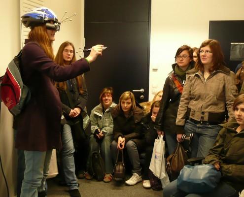 FIT Uni Virtuelle Realität FIT 2008 Uni Beratung   Foto: aau/KK