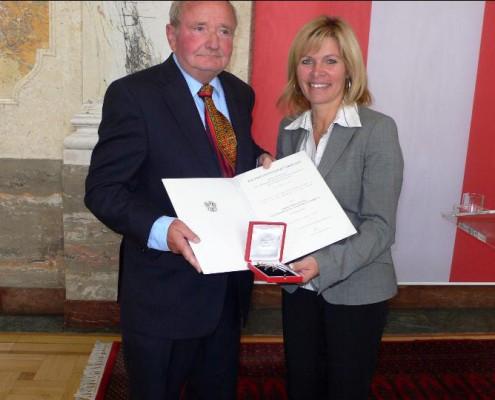 Verleihung Ehrenzeichen von Staatsekretärin Christa Kranzl | Foto: aau/KK