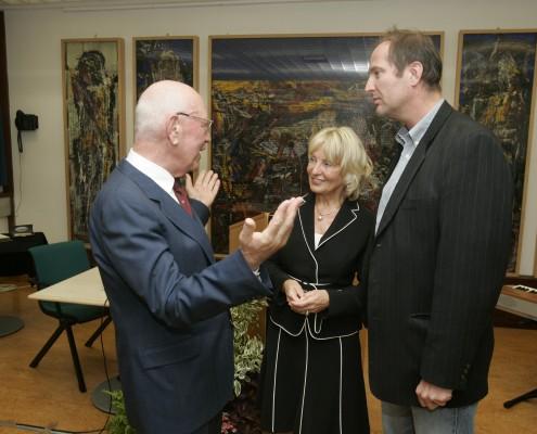 v. l. Josef Rattner, Jutta Menschik-Bendele, H. C. Mayr | Foto: aau/Puch