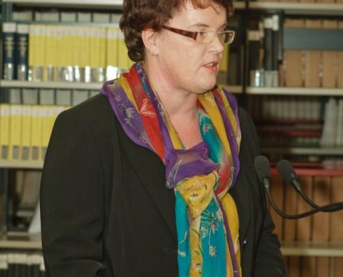 Laudatorin Doris Moser | Foto: aau/Zeitler