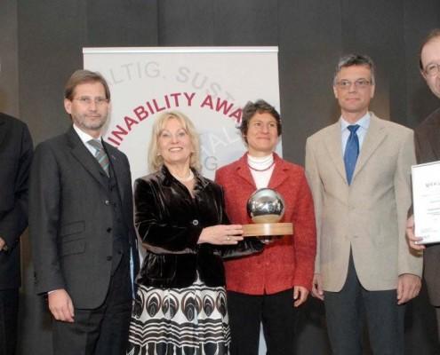 IFF Fakultät erhält Sustainability Award | Foto: bm:wf