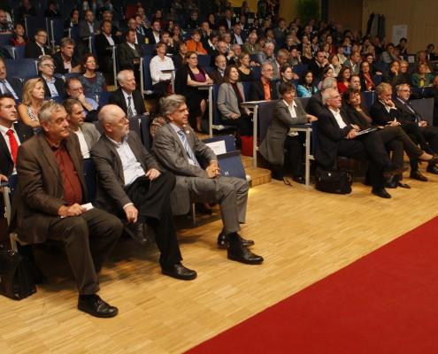 Zahlreiche Ehrengäste folgten der Einladung zur Festveranstaltung | Foto: aau/Maurer