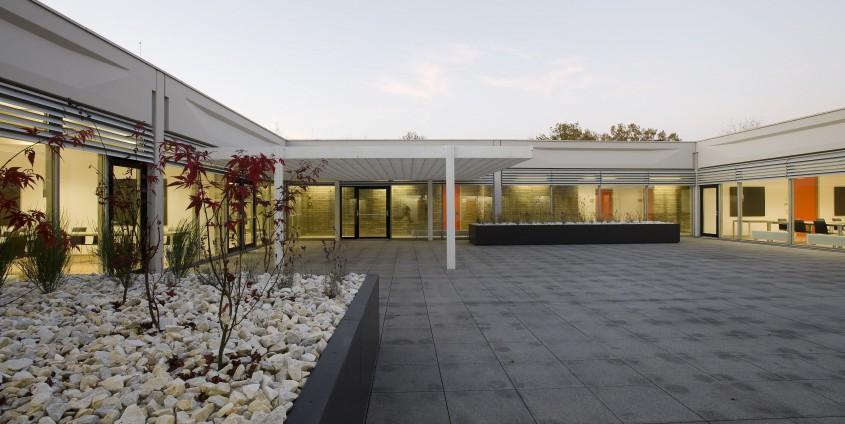Atrium im Vorstufengebäude | Foto: aau/Neumüller