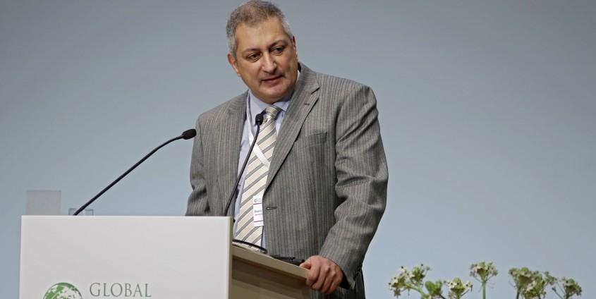 Daniel Barben am Global Bioeconomy Summit | Foto: KK