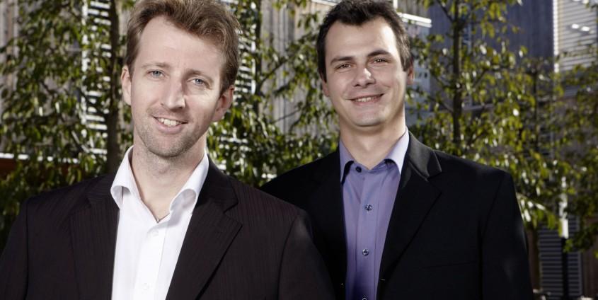 DI Markus Schicho und Dr. Marcus Hassler | Foto: aau/Puch