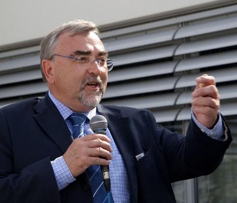 Rektor H. C. Mayr | Foto: aau/Wurzer