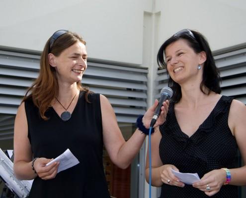 Sabine Strauß & Suzanne Lesjak | Foto: aau/Wurzer
