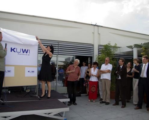 KUWI-Logo-Präsentation | Foto: aau/Wurzer
