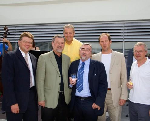 v. l. n. r. Karmasin, Stuhlpfarrer, Jandl, Mayr, Groß | Foto: aau/Wurzer