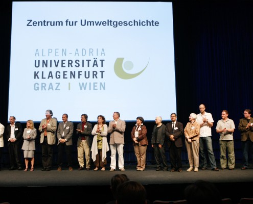 Die OrganisatorInnen der WCEH 2009 (links außen V. Winiwarter)   Foto: WCEH