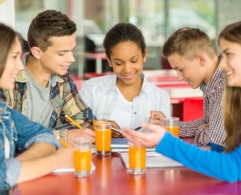 Jugendliche lernen gemeinsam | Foto: VadimGuzhva/Fotolia.com
