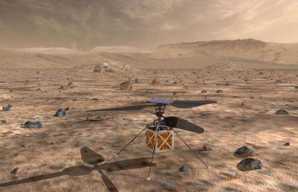 Mars-Helikopter