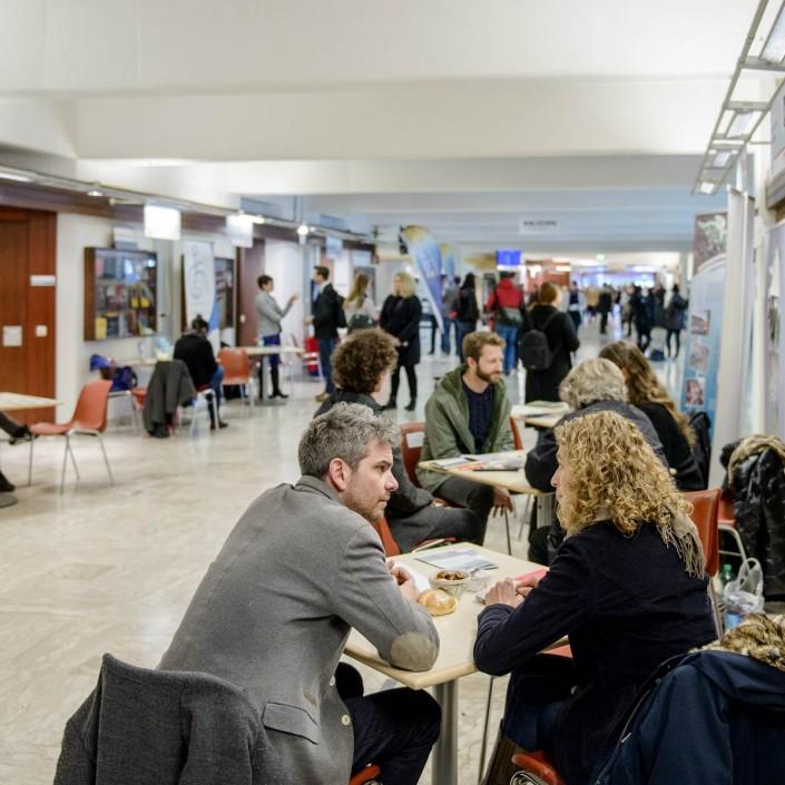 start-up! Praktikumsmesse | Fotos: aau/Thomas Hude