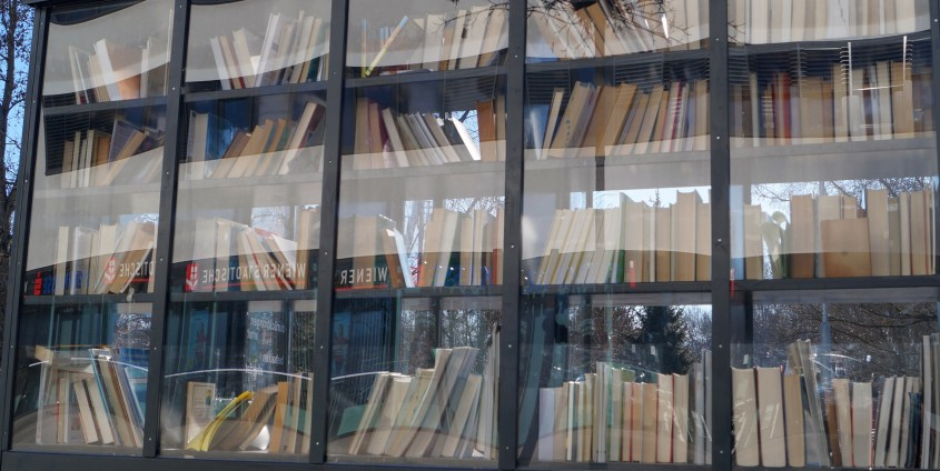 Buchhaltestelle| Foto: aau/Barbara Maier