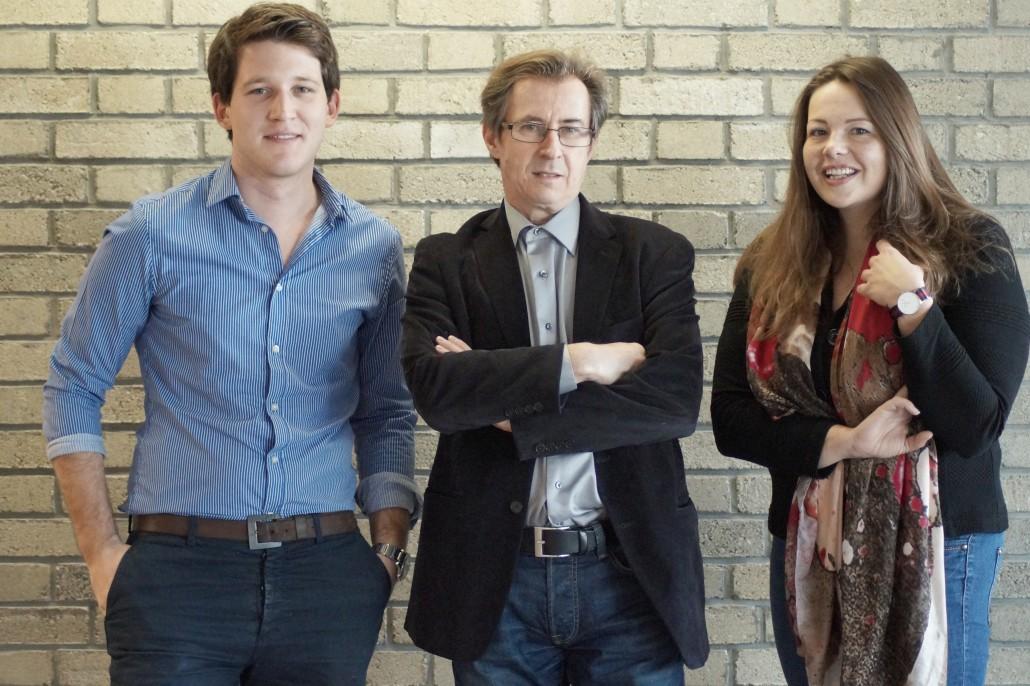 Martin Erian (links), Primus-Heinz Kucher (mitte) und Rebecca Unterberger (rechts) | Foto: aau/Barbara Maier