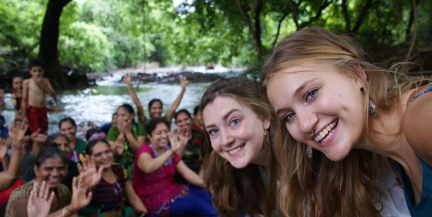 Karoline Kalke in Indien | Foto: Karoline Kalke