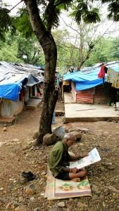 Behausungen in Indien | Foto: Karoline Kalke