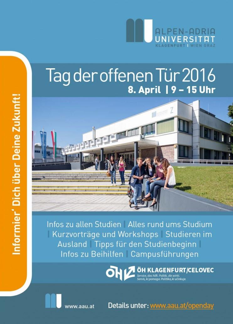 Wann ist tag der offenen tür  Tag der offenen Tür – Alpen-Adria-Universität Klagenfurt