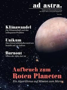 ad astra Titelfoto - März 2016, Ausgabe 2