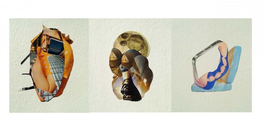 Collagen von Helga Isak