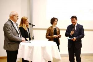 Eröffnung Lange Nacht der Forschung 2016: Hans Schönegger, Friederike Wall und Rektor Oliver Vitouch | Foto: aau/Daniel WaschnigPark