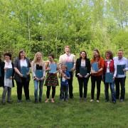 Zertifikatsübergabe ULG GebärdensprachlehrerIn | (c) Natalie Unterberger