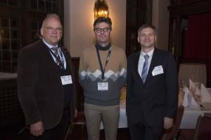 A. Tonello (TC-PLC Chair, Mitte), H. Vinck (Vice-chair, links) & G. Bumiller (Secretary, rechts) | Foto: KK