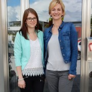 Liane Oswald und Sarah Rieger | Foto: aau/KK