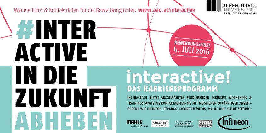 interactive! Screen