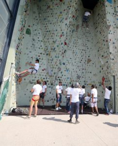 "Projekttag ""Sports with Refugees"" - Sportklettern| Foto: usi/QSpictures"