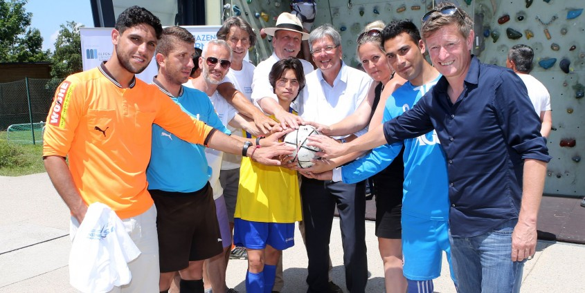 """Projekttag """"Sports with Refugees"""" 