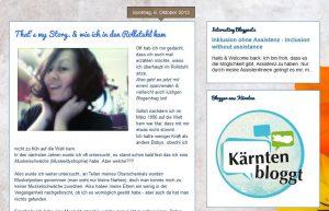 Screenshot Blog lauraimrolli.com