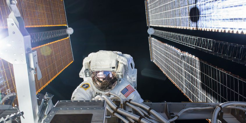 Spacewalk | Foto: NASA/Kate Rubins