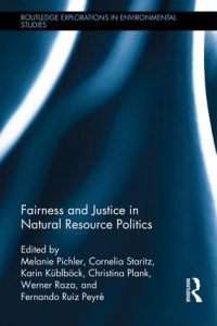Bookcover Fairness and Justice in Natural Resource Politics