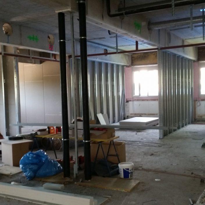 Sanierung - Büros   Foto: aau/Martin Hitz