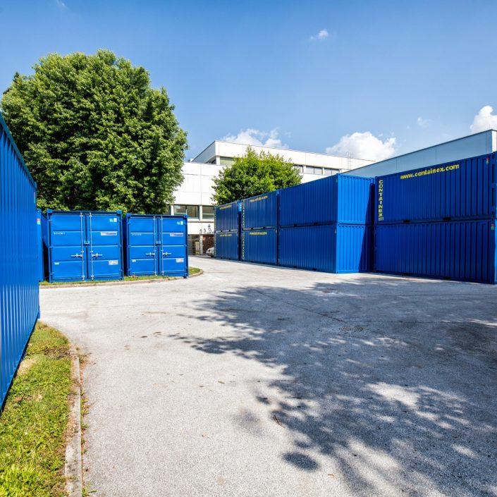 Sanierung -Baustellencontainer   Foto: aau/Daniel Waschnig