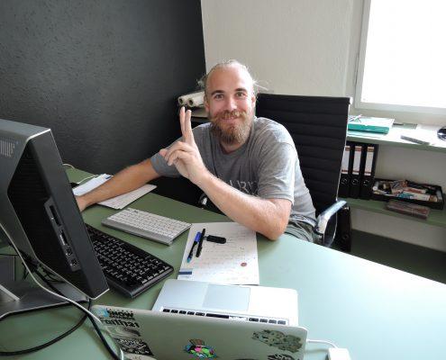 Hermann Strauss Gründer von EX_SMPLE