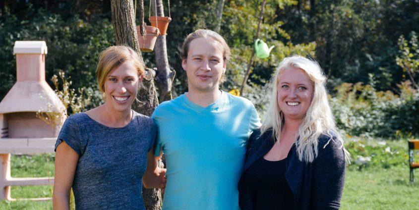 Franziska Nikodem, Stephan Trautner und Sabrina Schreilechner (von links)   Foto: ÖH Klagenfurt