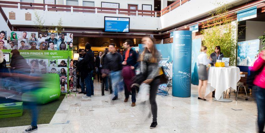 connect - die Job- und Karrieremesse | Foto: aau/Daniel Waschnig