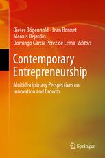 Book Cover Contemporary Entrepreneurship